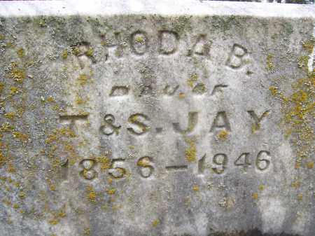 JAY, RHODA B - Miami County, Ohio | RHODA B JAY - Ohio Gravestone Photos