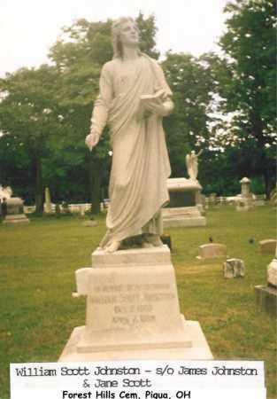 JOHNSTON, WILLIAM - Miami County, Ohio | WILLIAM JOHNSTON - Ohio Gravestone Photos