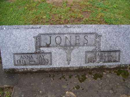 JONES, ANNA - Miami County, Ohio   ANNA JONES - Ohio Gravestone Photos