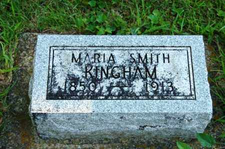 SMITH KINGHAM, MARIA - Miami County, Ohio | MARIA SMITH KINGHAM - Ohio Gravestone Photos