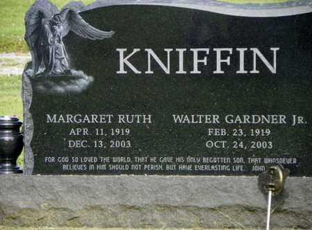 KNIFFEN, WALTER GARDNER JR. - Miami County, Ohio | WALTER GARDNER JR. KNIFFEN - Ohio Gravestone Photos