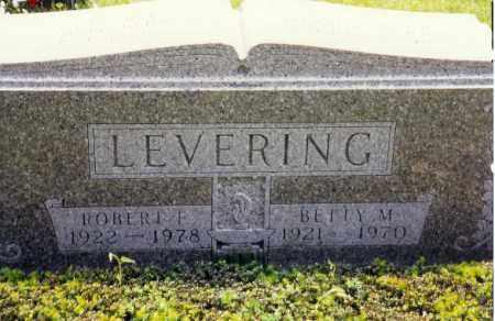 LEVERING, BETTY M. - Miami County, Ohio | BETTY M. LEVERING - Ohio Gravestone Photos