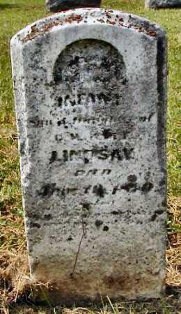 LINDSAY, INFANT - Miami County, Ohio | INFANT LINDSAY - Ohio Gravestone Photos
