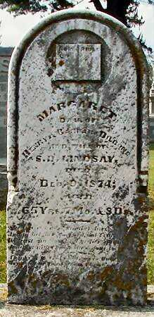 LINDSAY, MARGARET - Miami County, Ohio | MARGARET LINDSAY - Ohio Gravestone Photos