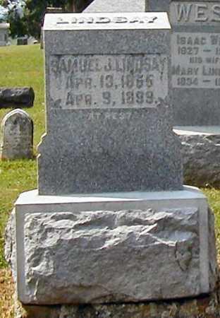 LINDSAY, SAMUEL JOSEPH - Miami County, Ohio | SAMUEL JOSEPH LINDSAY - Ohio Gravestone Photos