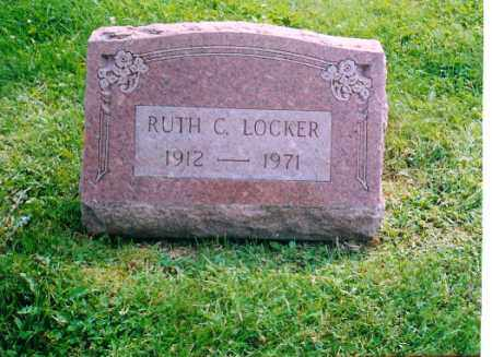 LOCKER, RUTH C. - Miami County, Ohio | RUTH C. LOCKER - Ohio Gravestone Photos