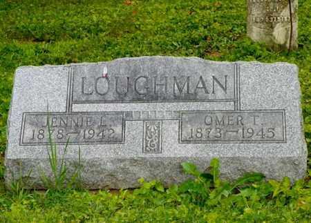 LOUGHMAN, JENNIE L. - Miami County, Ohio   JENNIE L. LOUGHMAN - Ohio Gravestone Photos