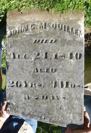 MCQUILLEN, JOHN C - Miami County, Ohio | JOHN C MCQUILLEN - Ohio Gravestone Photos