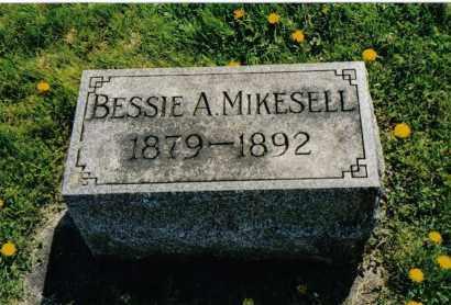 MIKESELL, BESSIE A. - Miami County, Ohio | BESSIE A. MIKESELL - Ohio Gravestone Photos