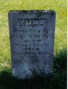 MIKESELL, EMMA - Miami County, Ohio | EMMA MIKESELL - Ohio Gravestone Photos