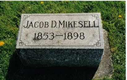 MIKESELL, JACOB D. - Miami County, Ohio | JACOB D. MIKESELL - Ohio Gravestone Photos