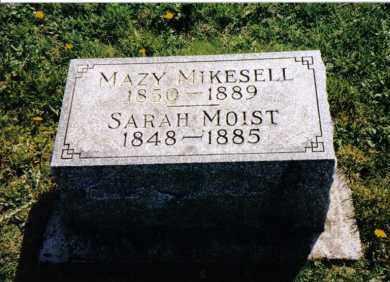 MOIST, SARAH - Miami County, Ohio   SARAH MOIST - Ohio Gravestone Photos