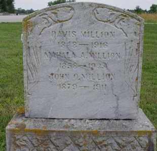 MILLION, MAHALA A - Miami County, Ohio   MAHALA A MILLION - Ohio Gravestone Photos