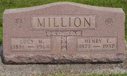 PEARSON MILLION, LUCY M - Miami County, Ohio | LUCY M PEARSON MILLION - Ohio Gravestone Photos