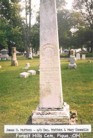 KEYT MOFFETT, ELIZABETH - Miami County, Ohio | ELIZABETH KEYT MOFFETT - Ohio Gravestone Photos