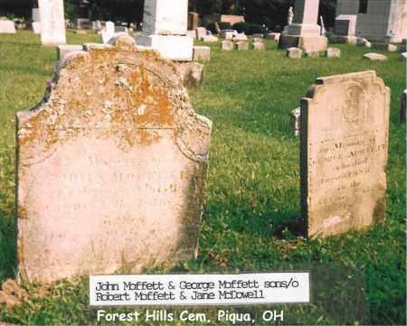 MOFFETT, JOHN - Miami County, Ohio | JOHN MOFFETT - Ohio Gravestone Photos
