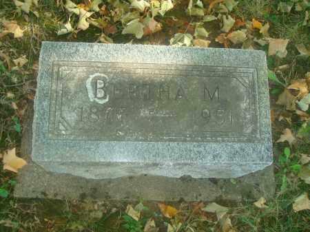 MORROW?, BERTHA M.? - Miami County, Ohio | BERTHA M.? MORROW? - Ohio Gravestone Photos