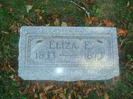 DRAKE MORROW, ELIZA E. - Miami County, Ohio | ELIZA E. DRAKE MORROW - Ohio Gravestone Photos