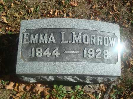 MORROW, EMMA L. - Miami County, Ohio | EMMA L. MORROW - Ohio Gravestone Photos