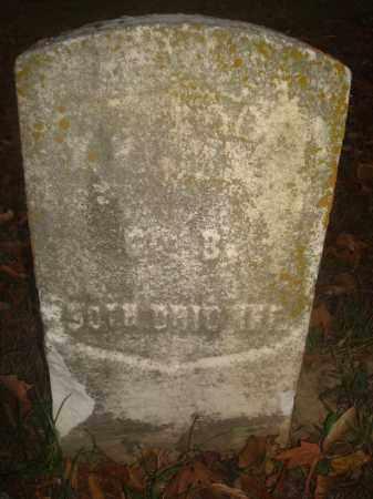 MORROW, WILLIAM - Miami County, Ohio   WILLIAM MORROW - Ohio Gravestone Photos
