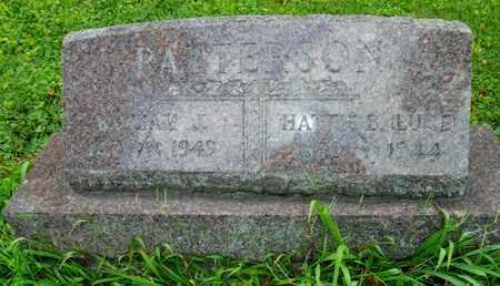 PATTERSON, WILLIAM J. - Miami County, Ohio | WILLIAM J. PATTERSON - Ohio Gravestone Photos