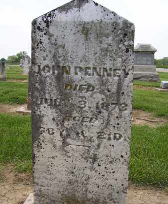 PENNY, JOHN - Miami County, Ohio | JOHN PENNY - Ohio Gravestone Photos