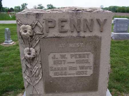 MUCK PENNY, SARAH - Miami County, Ohio | SARAH MUCK PENNY - Ohio Gravestone Photos