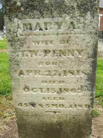 GRAHAM PENNY, MARY A - Miami County, Ohio | MARY A GRAHAM PENNY - Ohio Gravestone Photos