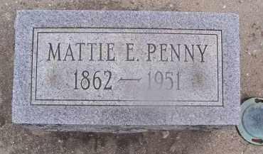 LAMSDALE PENNY, MATTIE - Miami County, Ohio   MATTIE LAMSDALE PENNY - Ohio Gravestone Photos