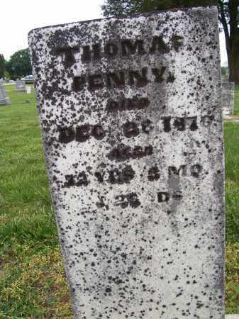 PENNY, THOMAS - Miami County, Ohio | THOMAS PENNY - Ohio Gravestone Photos
