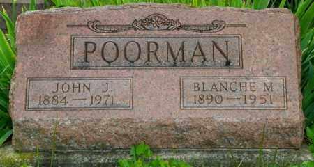 POORMAN, BLANCHE M - Miami County, Ohio | BLANCHE M POORMAN - Ohio Gravestone Photos