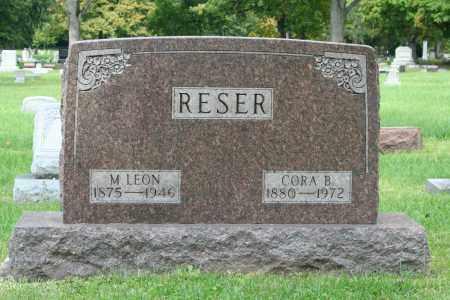 HICKS RESER, CORA BELLE - Miami County, Ohio | CORA BELLE HICKS RESER - Ohio Gravestone Photos