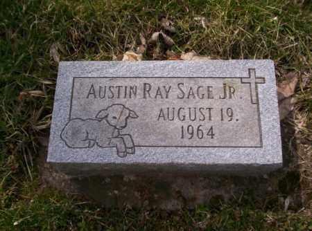 SAGE, AUSTIN RAY - Miami County, Ohio   AUSTIN RAY SAGE - Ohio Gravestone Photos