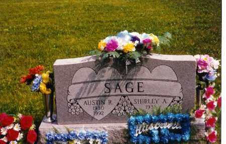 SAGE, SHIRLEY - Miami County, Ohio   SHIRLEY SAGE - Ohio Gravestone Photos