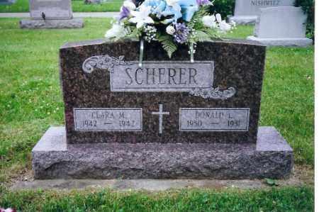 SCHERER, CLARA - Miami County, Ohio   CLARA SCHERER - Ohio Gravestone Photos