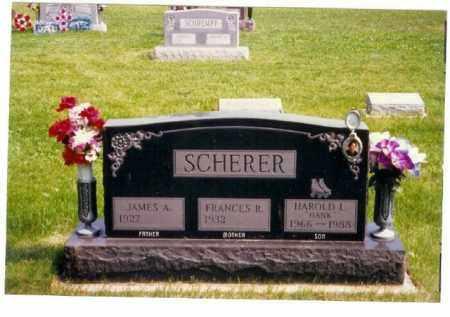 SCHERER, JAMES A. - Miami County, Ohio | JAMES A. SCHERER - Ohio Gravestone Photos