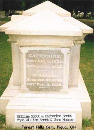 SCOTT, CATHARINE - Miami County, Ohio | CATHARINE SCOTT - Ohio Gravestone Photos