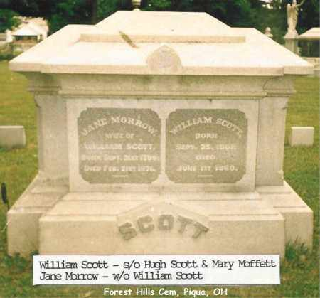 SCOTT, JANE - Miami County, Ohio | JANE SCOTT - Ohio Gravestone Photos