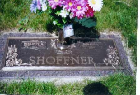 SHOFFNER, HERLINDA - Miami County, Ohio | HERLINDA SHOFFNER - Ohio Gravestone Photos