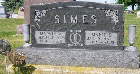 SIMES, MARVIN VINCENT - Miami County, Ohio | MARVIN VINCENT SIMES - Ohio Gravestone Photos