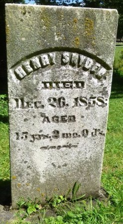 SNYDER, HENRY - Miami County, Ohio | HENRY SNYDER - Ohio Gravestone Photos
