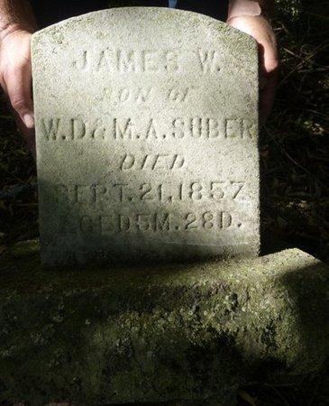 SUBER, JAMES W - Miami County, Ohio | JAMES W SUBER - Ohio Gravestone Photos