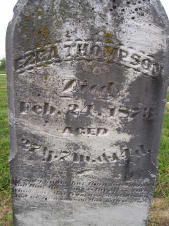 THOMPSON, EZRA - Miami County, Ohio | EZRA THOMPSON - Ohio Gravestone Photos