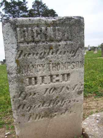 THOMPSON, LUCINDA - Miami County, Ohio | LUCINDA THOMPSON - Ohio Gravestone Photos