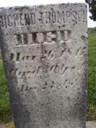 THOMPSON, RICHARD - Miami County, Ohio | RICHARD THOMPSON - Ohio Gravestone Photos