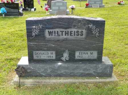 WILTHEISS, EDNA M. - Miami County, Ohio | EDNA M. WILTHEISS - Ohio Gravestone Photos