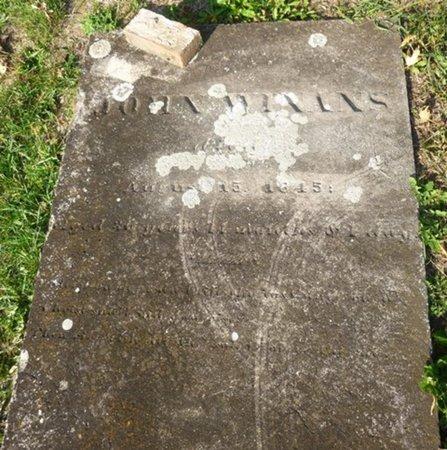 WINANS, JOHN - Miami County, Ohio | JOHN WINANS - Ohio Gravestone Photos