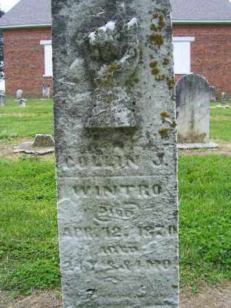 WINTRO, COLLIN J - Miami County, Ohio | COLLIN J WINTRO - Ohio Gravestone Photos