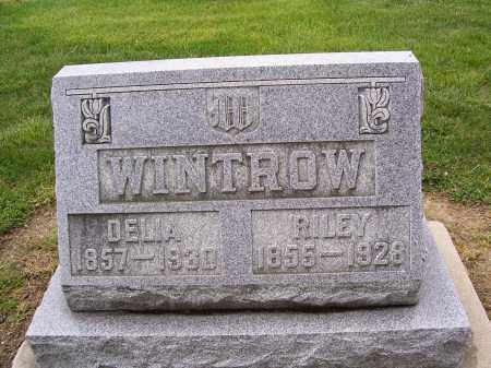 WINTROW, RILEY RICHARD - Miami County, Ohio | RILEY RICHARD WINTROW - Ohio Gravestone Photos