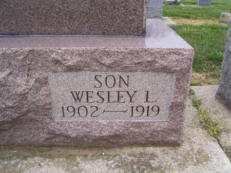 WINTROW, WESLEY - Miami County, Ohio   WESLEY WINTROW - Ohio Gravestone Photos